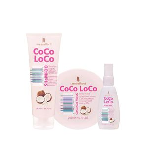 Kit-Shampoo-250ml---Coconut-Mask-200ml---Oleo-Coco-Loco-75ml-