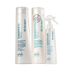 Kit-Shampoo-Curl-Cleansing-300ml---Condicionador-Curl-Nourished-300ml---Leave-In-Curl-Refresh-Rean-Mist-150ml