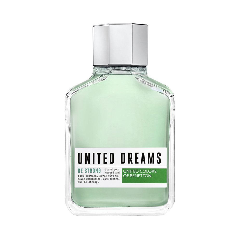 Perfume Benetton Masculino United Dreams Be Strong Eau de Toilette 200ml