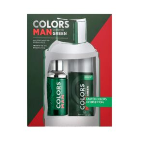 Kit-Colors-Man-Green-Edt-100mL-E-Deo-150mL-Benetton