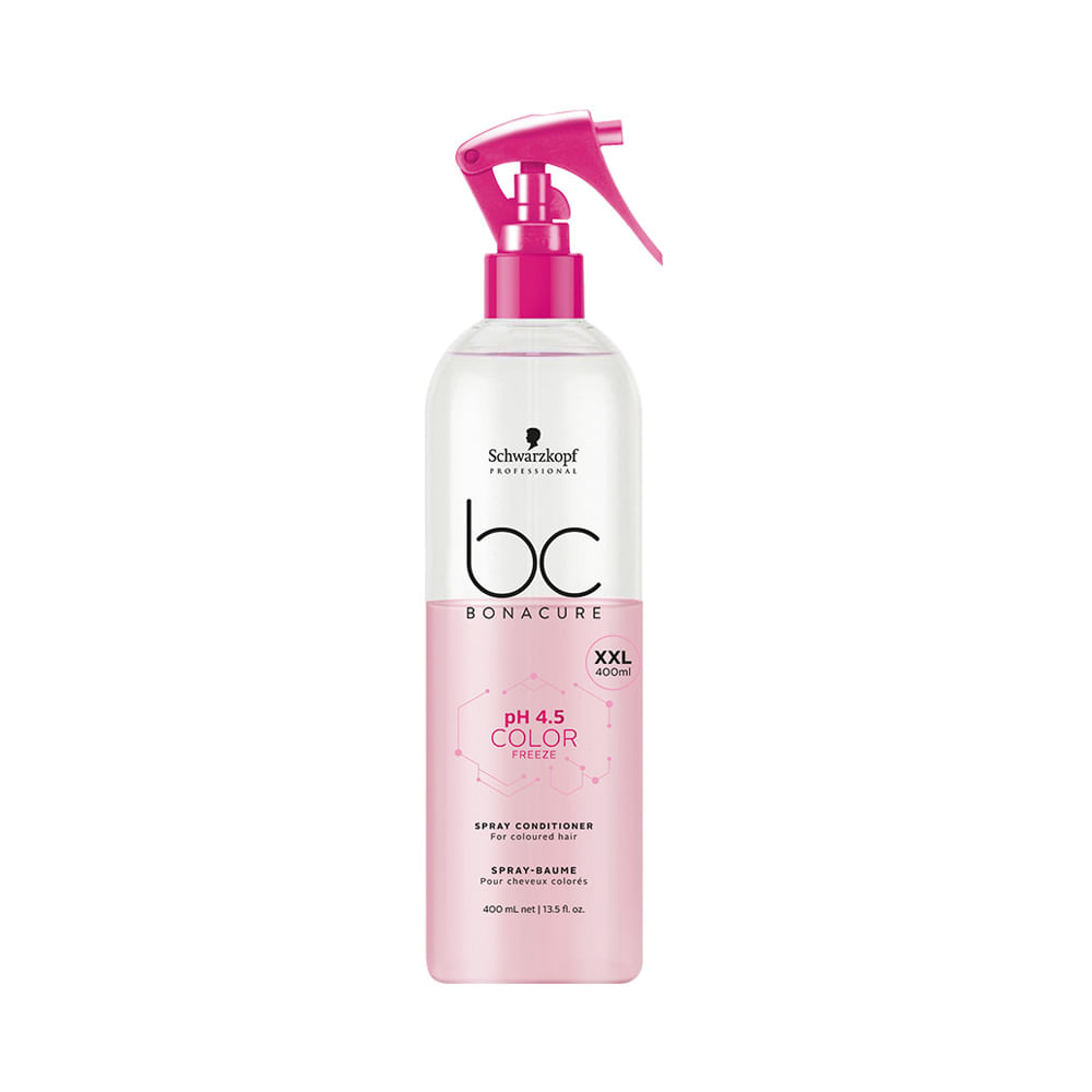 Leave-In Schwarzkopf BC pH 4.5 Color Freeze Spray Conditioner 400ml
