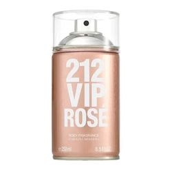 01de54a1e CAROLINA HERRERA · Body Spray 212 VIP Rosé Feminino