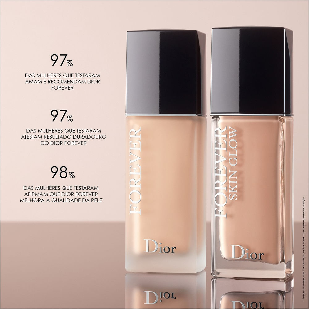Base Líquida Diorskin Forever Skin Glow 1 Neutral 30ml
