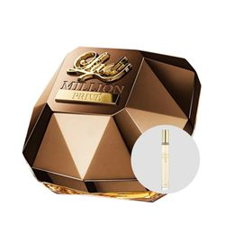 Lady-Million-Prive-Feminino-Eau-de-Parfum-80ml---Lady-Million-10ml
