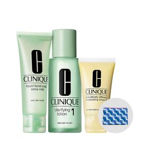 Kit-3-Step-Clinique-Intro-System-Skin-Type-1---Necessaire