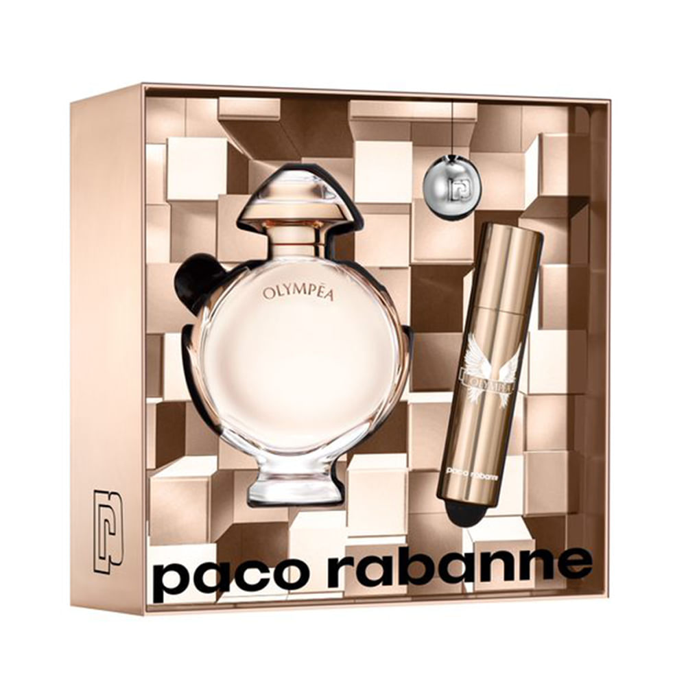 f9dc0ab42a Kit Perfume Olympéa Feminino Eau de Parfum 50ml + Travel Spray 10ml