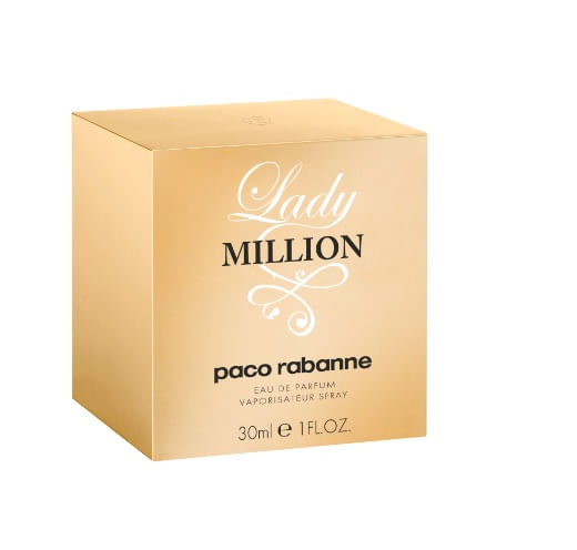 Perfume Lady Million Feminino Paco Rabanne Eau de Parfum 30ml